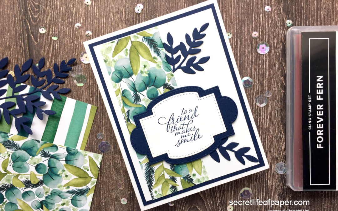 Sneak Peek – Stampin' Up! Forever Greenery