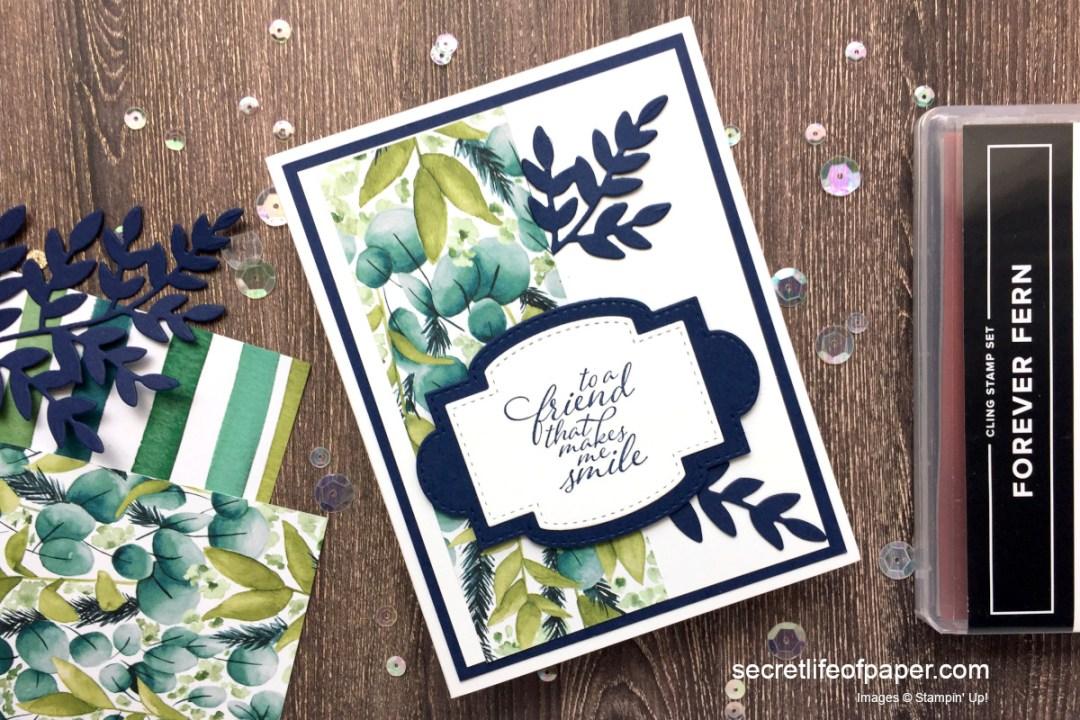 Sneak Peek Card Forever Greenery
