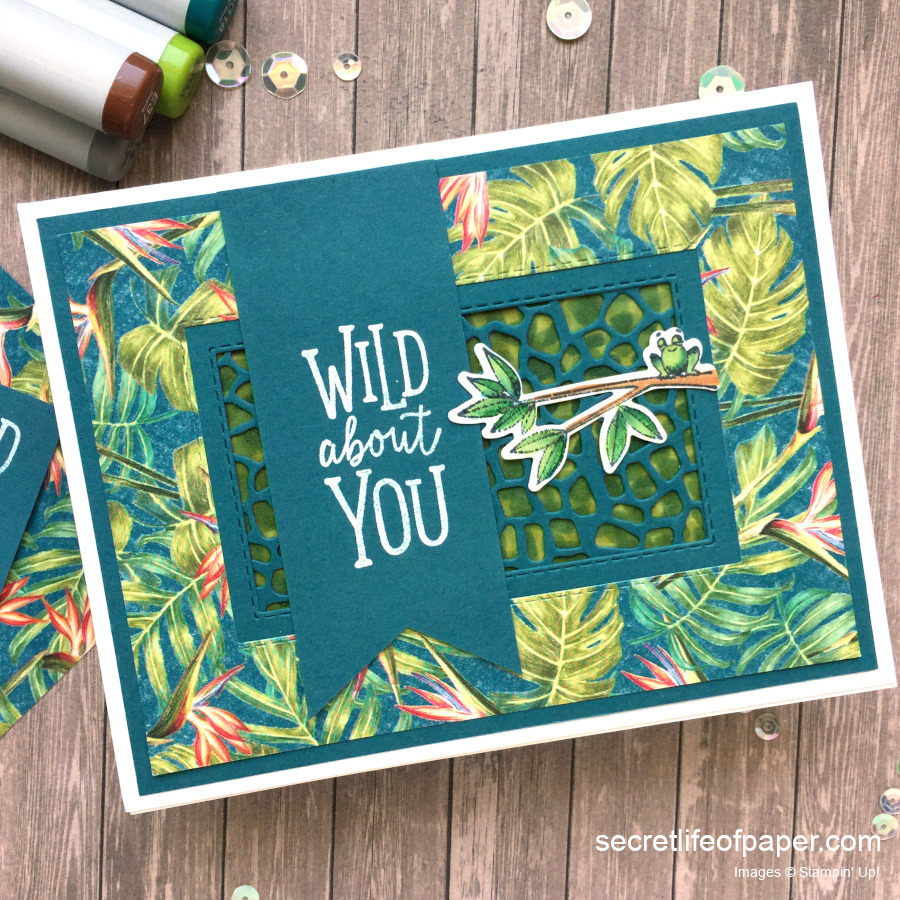 Stampin' Up! Animal Outing Tropical Oasis