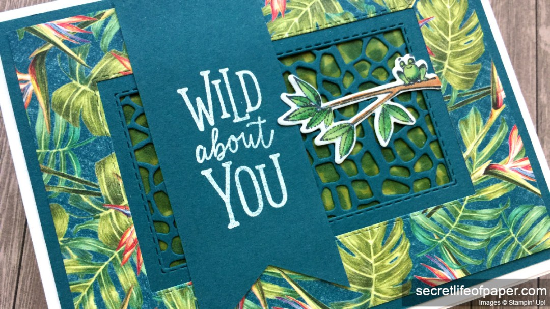 Stampin Up Animal Outing Detail