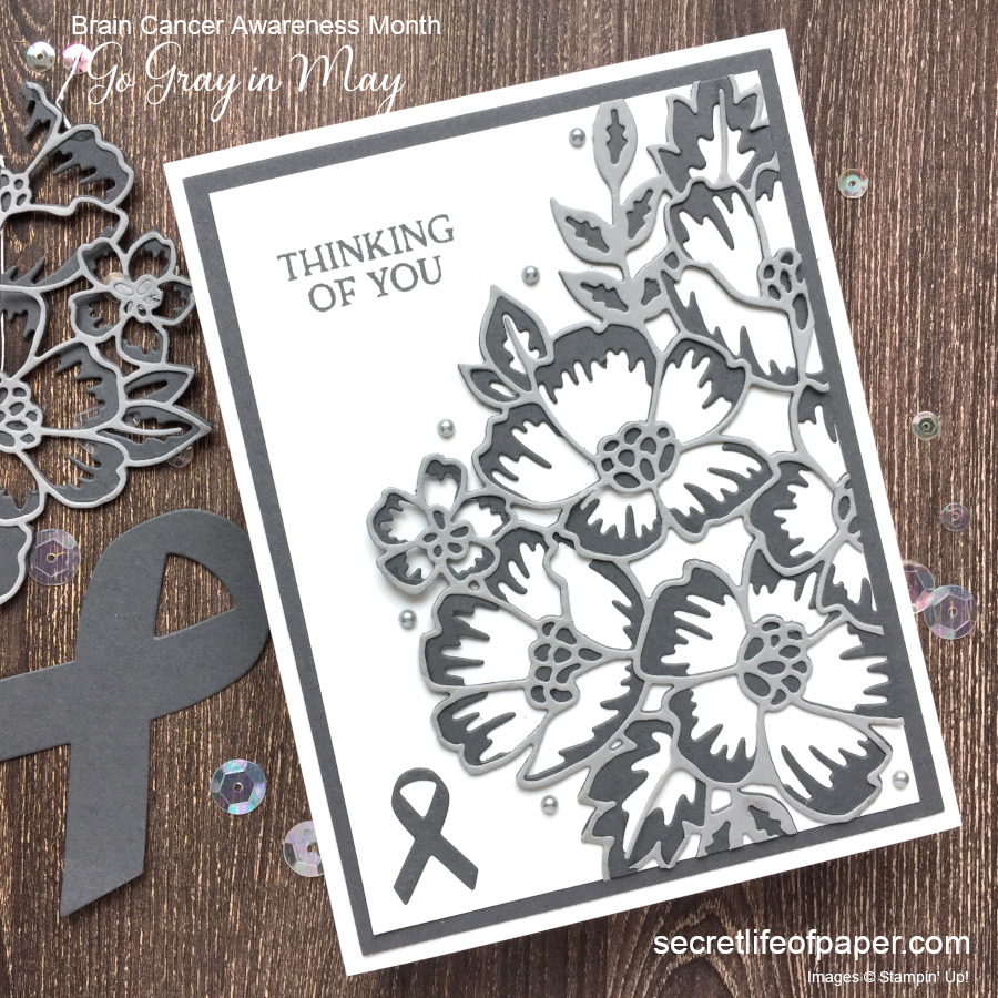 Stampin' Up! Support Ribbon & Blossoms in Bloom