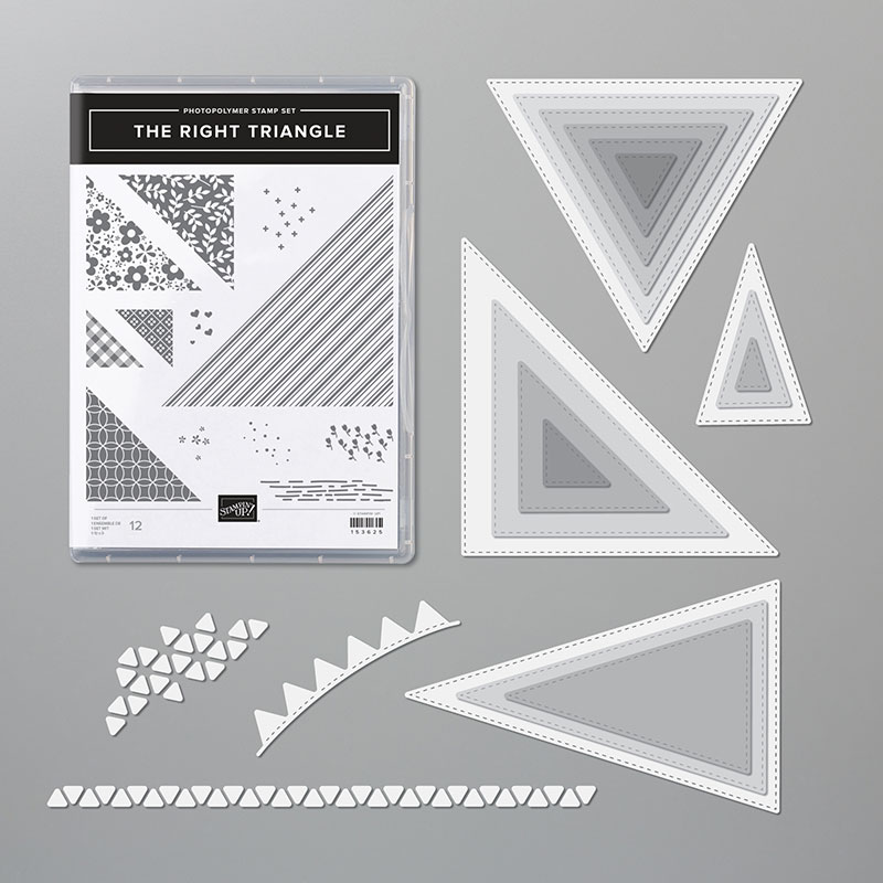 Stampin Up Right Triangle Bundle