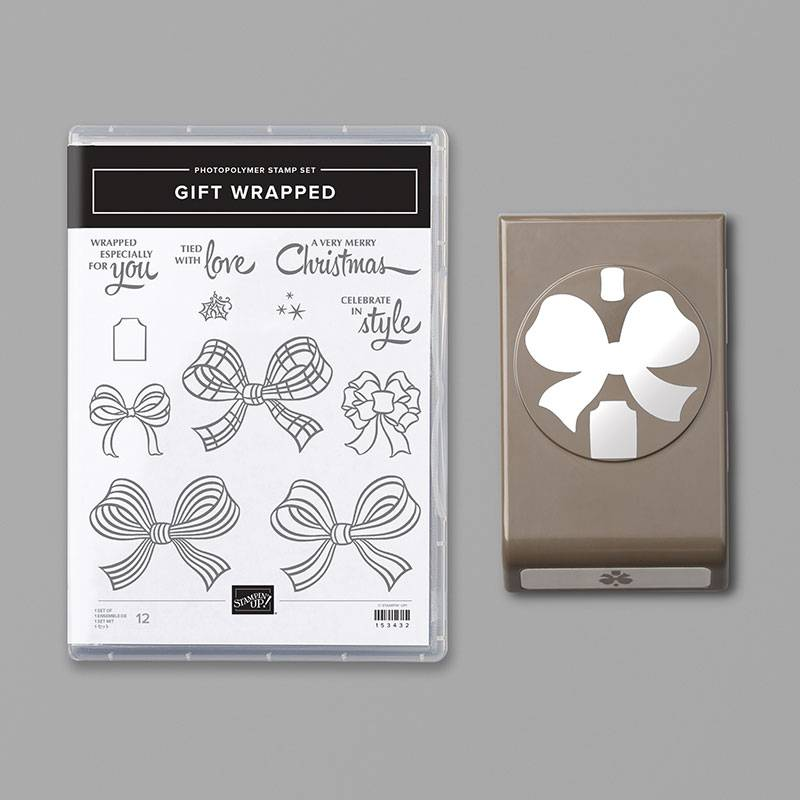 Stampin Up Gift Wrapped Bundle