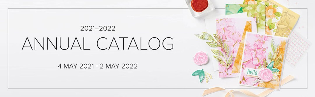 2021-2022 Stampin Up Annual Catalog