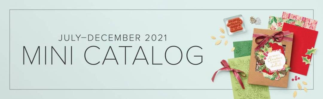 Stampin Up July-Dec 2021 Mini Catalog