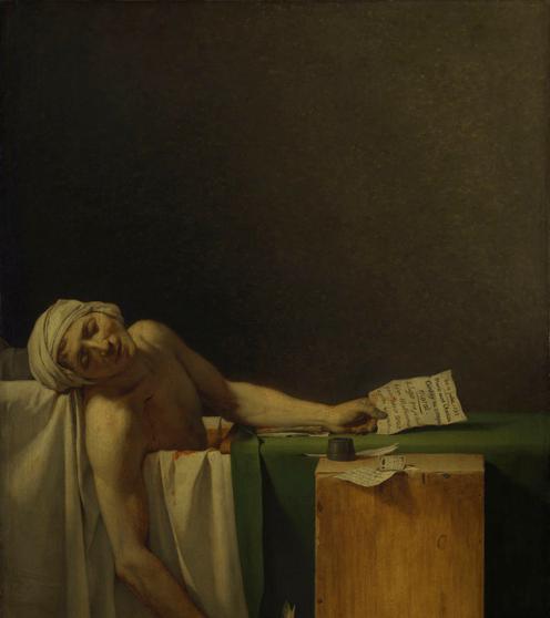 marat-assassinated