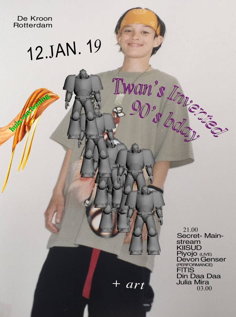 RSVP for Twan's Invented 90s Bday