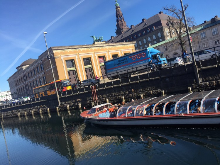 Canal boat ride - Weekend in Copenhagen