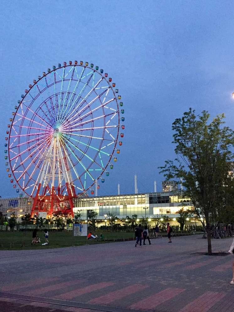Ferris wheel - Tokyo itinerary