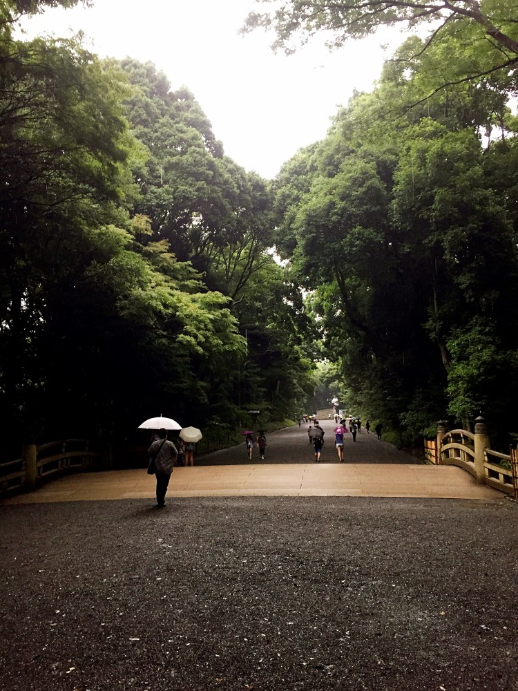 Lovely path to the shrine