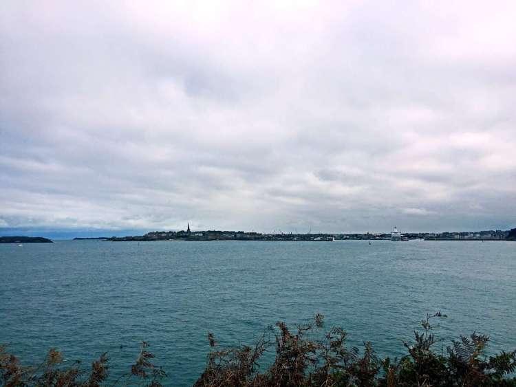 Seaside town of Dinard