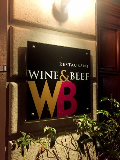 Wine & Beef restaurant - Weekend in Geneva