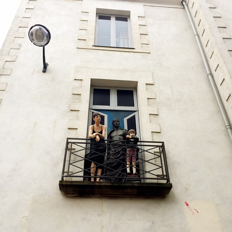 Sculpture Rue Scribe, Nantes