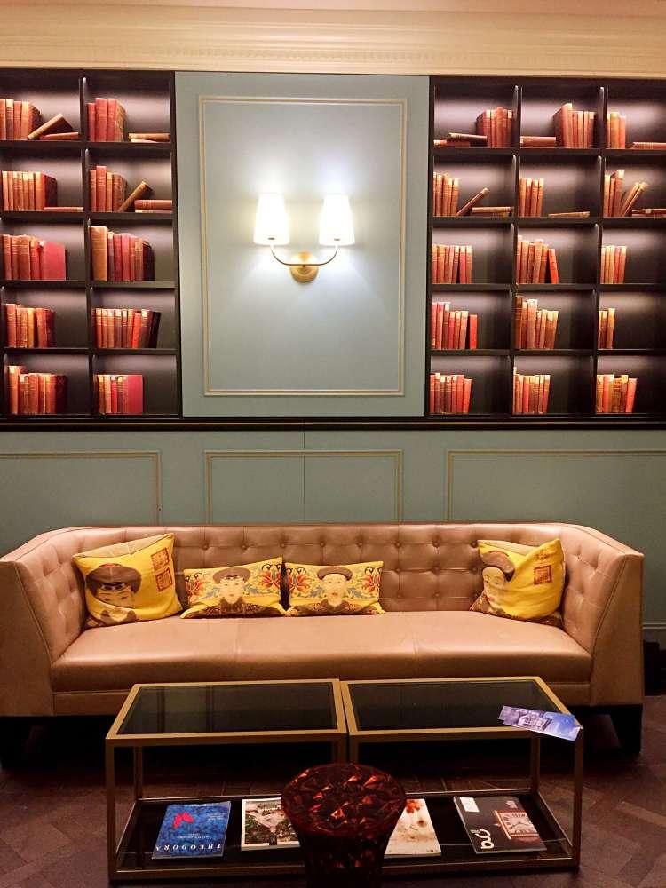 Lobby, seating area - Hotel Rotary Geneva