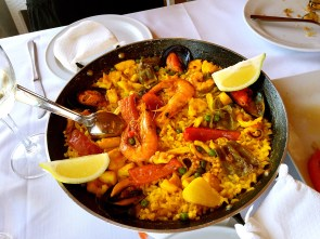 Another plate of paella