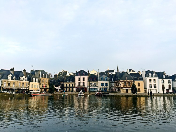 Picturesque and quaint port of Saint-Goustan - Auray Brittany