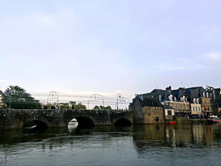 Picturesque port of Saint-Goustan - Auray Brittany