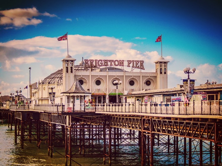 Brighton Pier - Want to see more of England, or perhaps, get away from the busy capital? Here's our selections of 12 best trips from London to get you started. #London #UKTravel