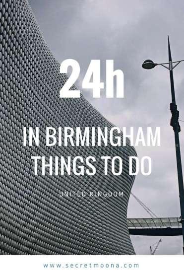 Pin 2 - Selfridges building - to do in Birmingham