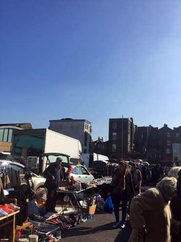 Market Saturday - local in Holloway Road
