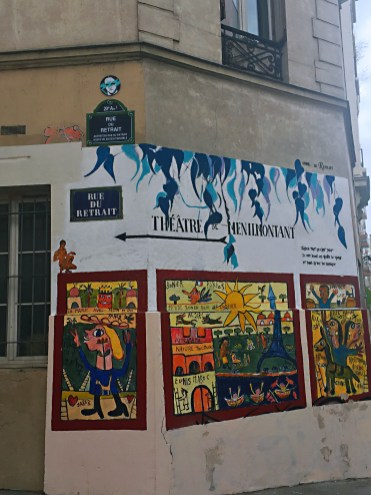 Theatre Menilmontant - A self-guided walking tour of Belleville and Ménilmontant
