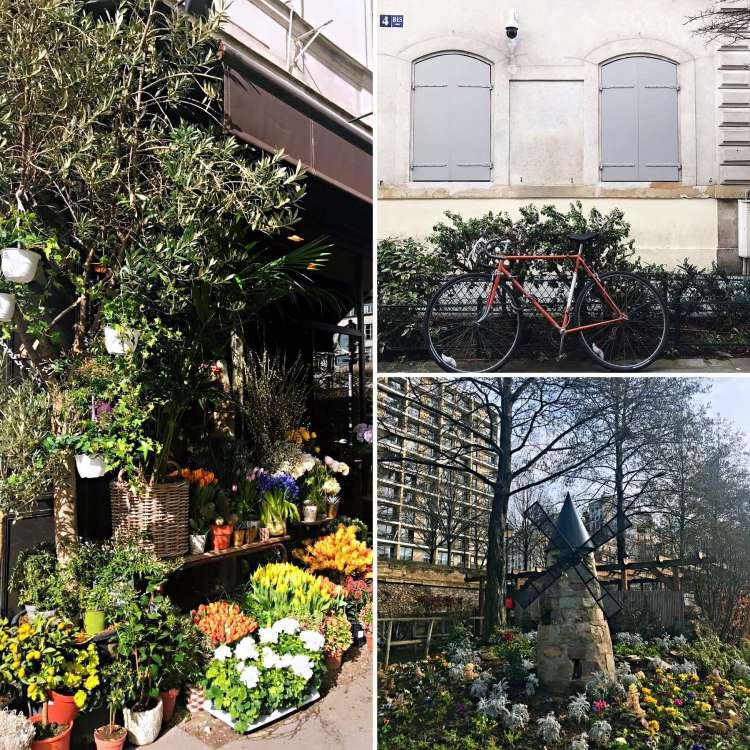 Flowers everywhere - Walking Tour in Le Marais