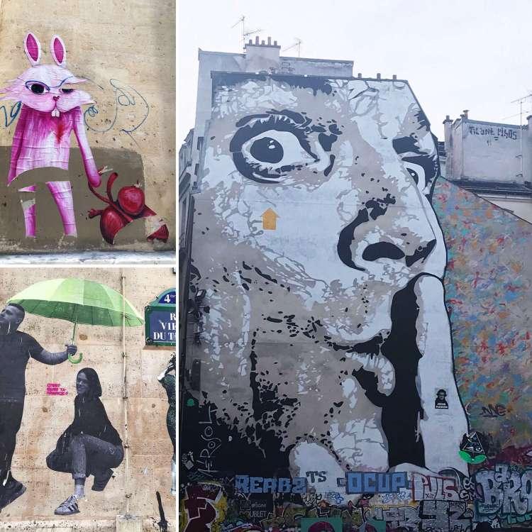 Le Marais Street Art - Walking tour in Le Marais