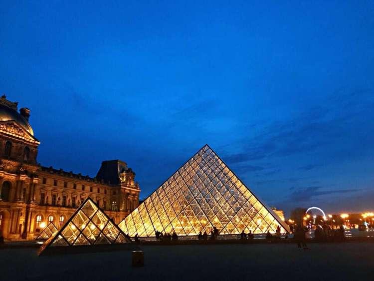 Louvre Museum - Walking tour Le Marais