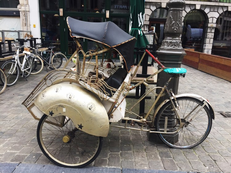 Vintage bike - 24 Hours in Antwerp