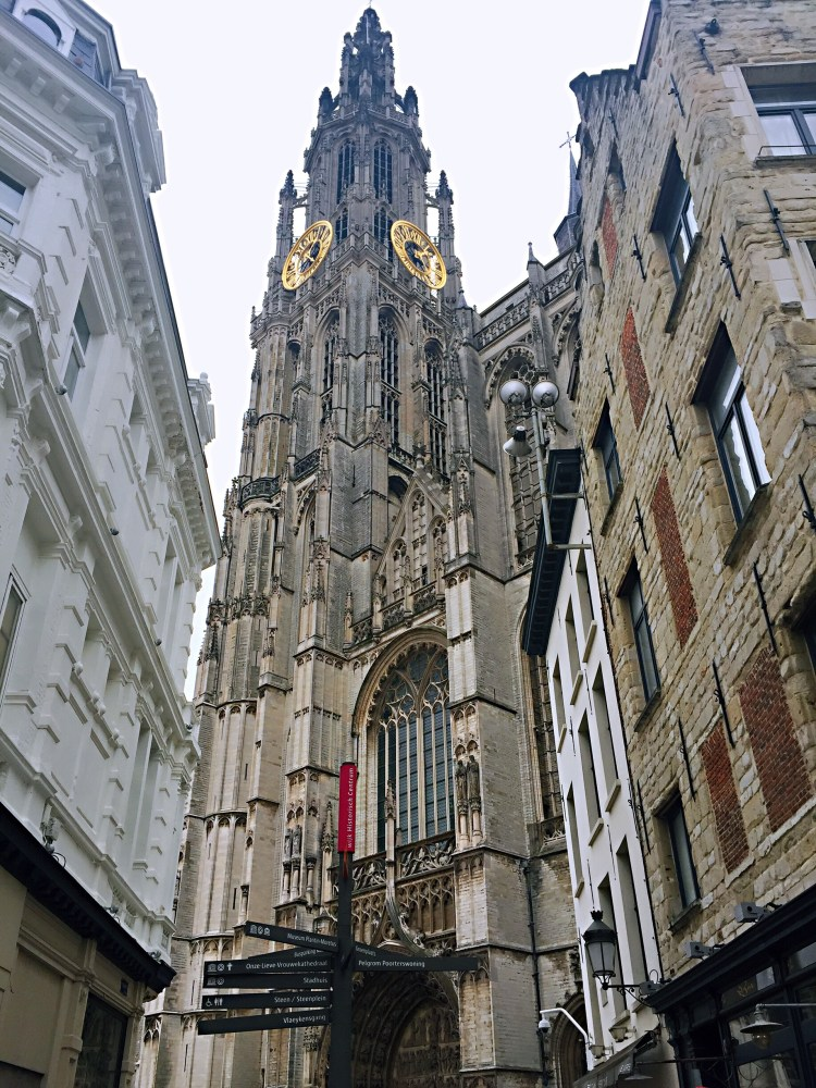 View of Our Lady's tower -things to do , 24 hours in Antwerp