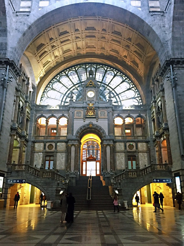 Antwerp Centraal ticket hall -  things to do , 24 hours in Antwerp