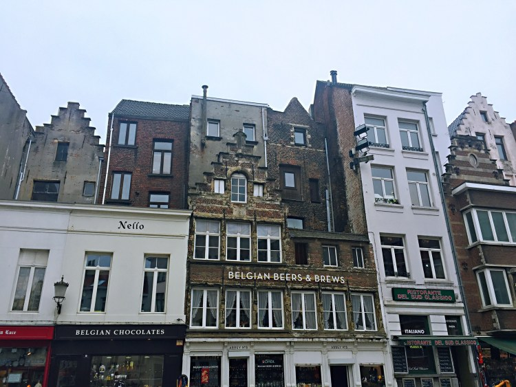 Medieval houses - 24 Hours in Antwerp