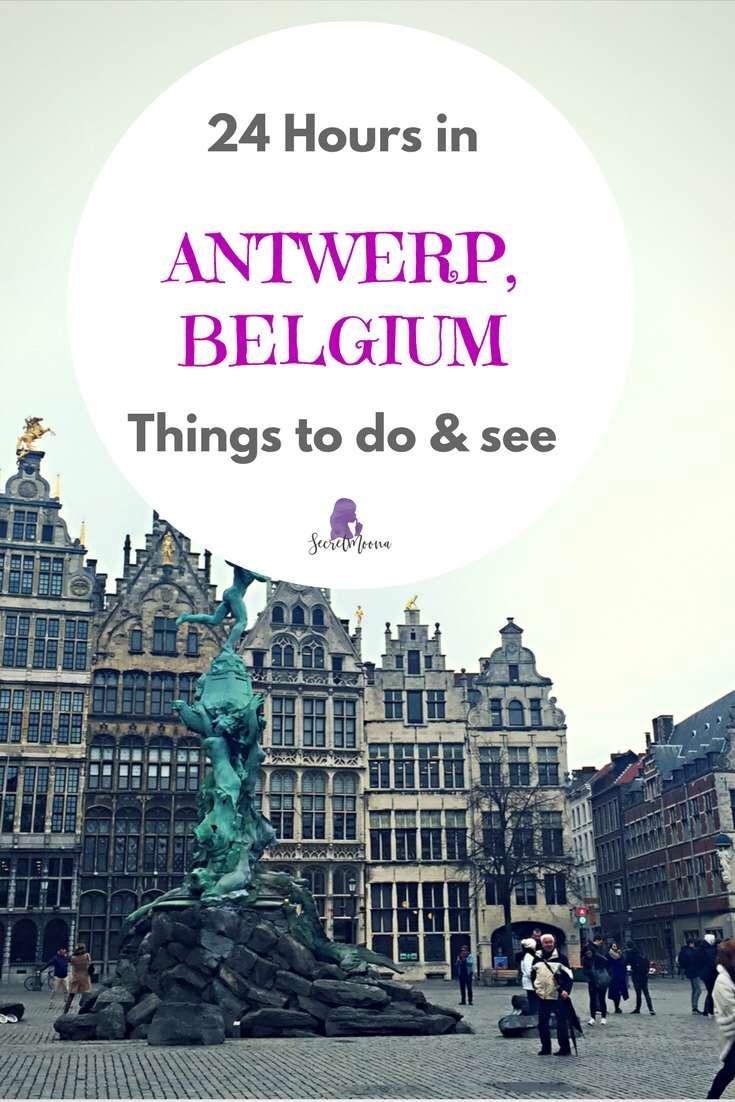 24 Hours in Antwerp