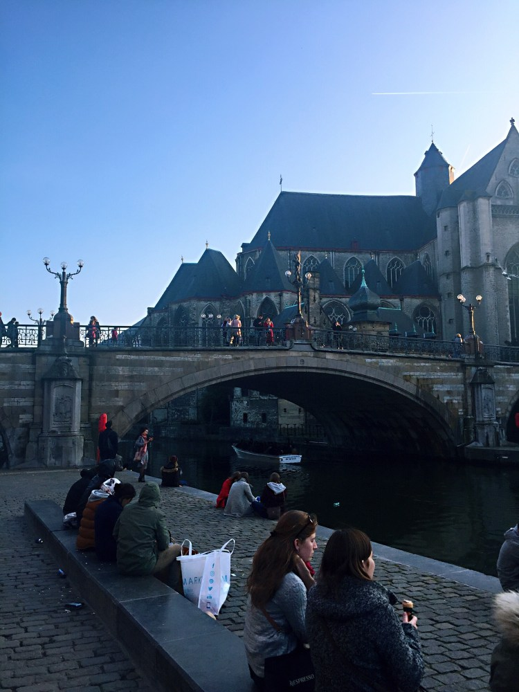Graslei waterside - reasons to visit Ghent