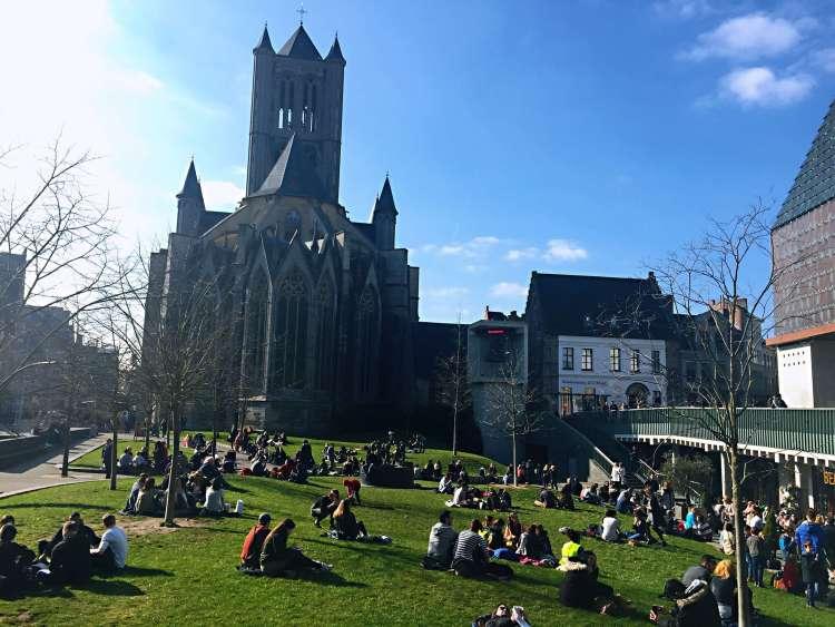 Saint Nicholas' Church, Ghent - reasons to visit Ghent