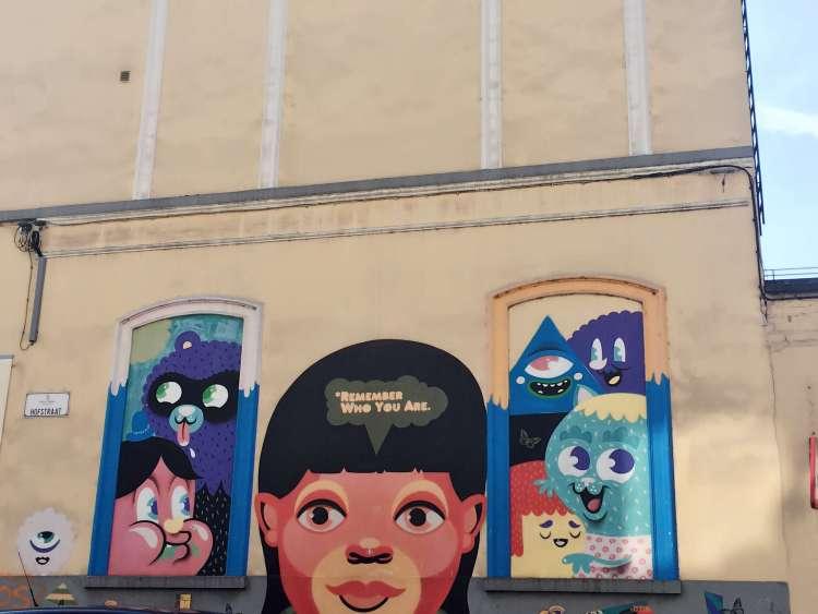 Street art by Bue the Warrior in Ghent - Ghent street art - SecretMoona