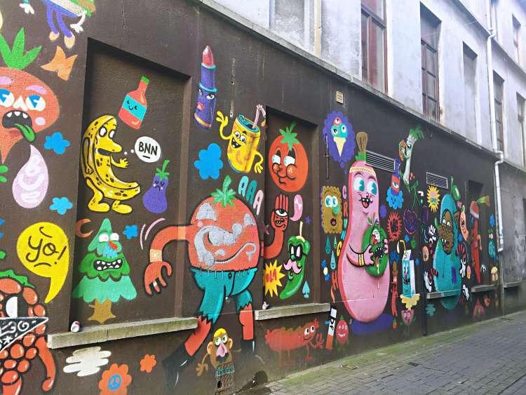 BUE - Achterleie - Ghent street art - SecretMoona
