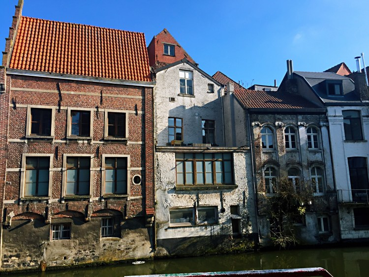 Ghent's old houses - Belgium photo diary