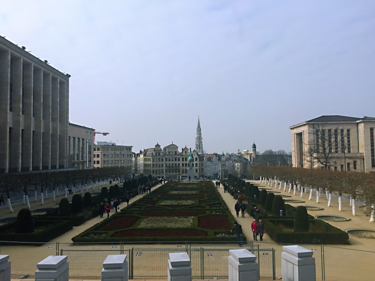 Mont des Arts- Belgium photo diary