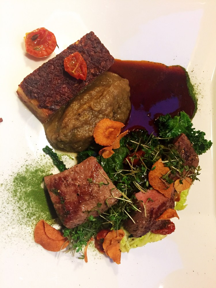 Bakfickan's Lamb dish - a day in Stockholm