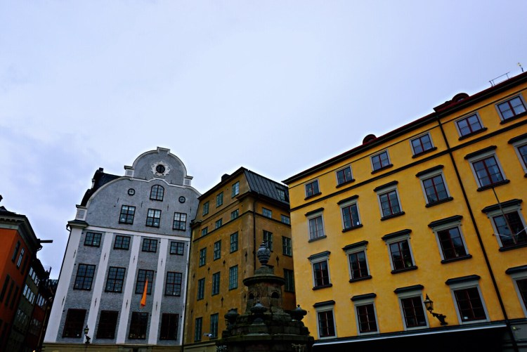 Old town - one day in Stockholm