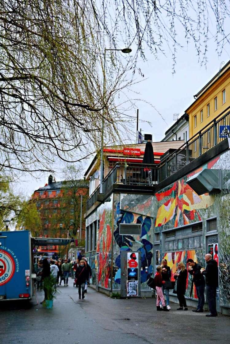 Hornstulls marknad - one day in Stockholm