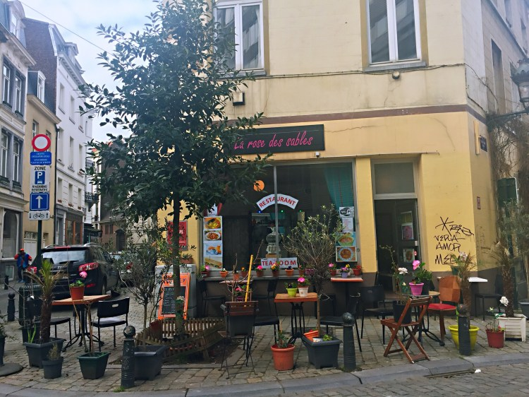 Cute restaurant - Brussels attractions