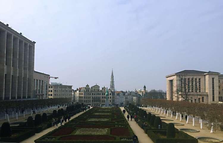 Monts des Arts Garden - Brussels attractions