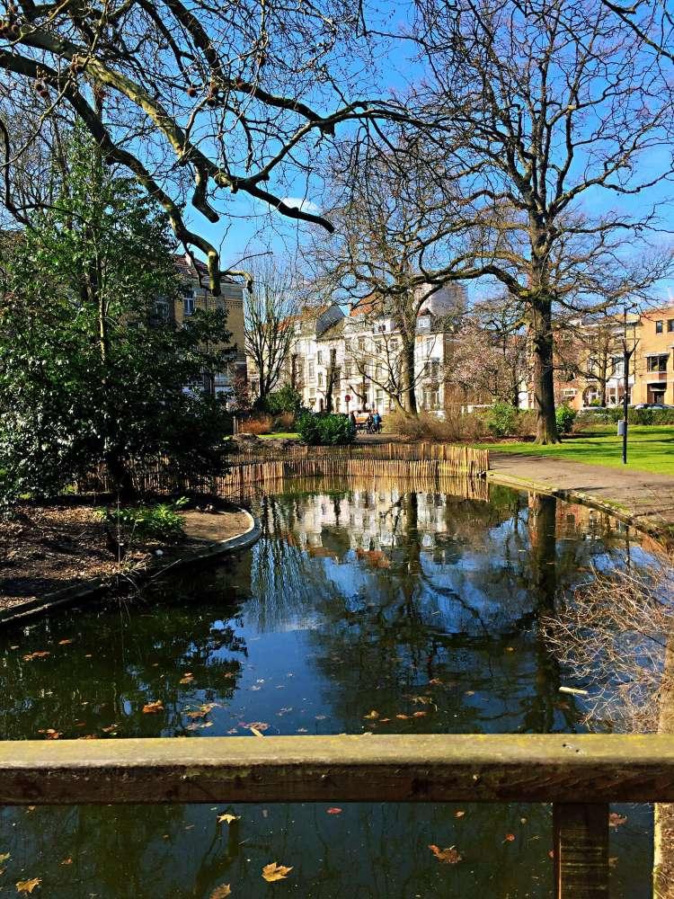 Park in Ghent - Belgium photo diary