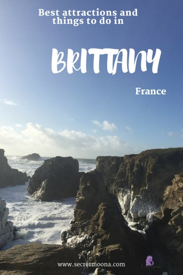 Best attractions and things to do in Brittany. Brittany has some of the most charming towns in France. Wandering along the streets of the walled city of Saint-Malo or medieval city of Dinan, you can't help but be charmed. With one of the longest coastline in France, Brittany offers the perfect spot for beach and nature lovers. #brittany #bretagne #france #beach #holiday