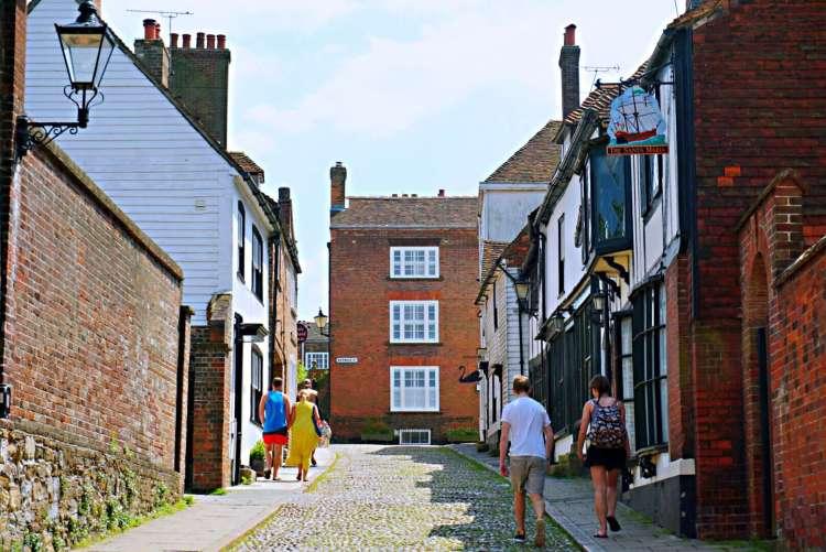 Street in Rye - Rye East Sussex