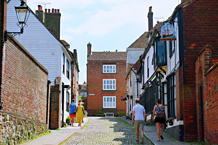 Street in Rye - Rye East Sussex