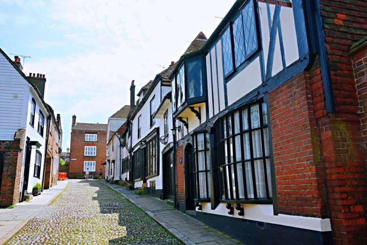 Cute street in Rye - Rye East Sussex
