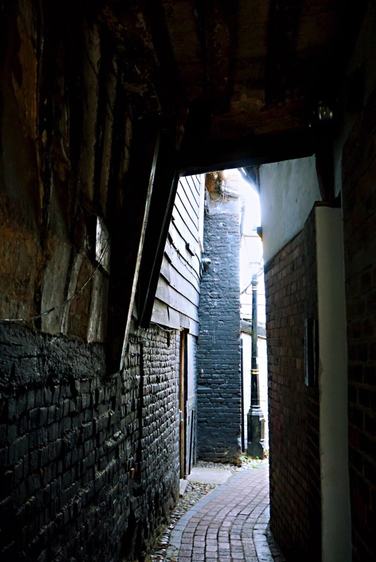 Little alleyway in Rye - Rye East Sussex